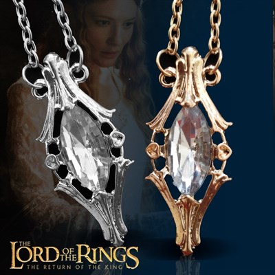 Lord of Ring Galadriel King Pendant
