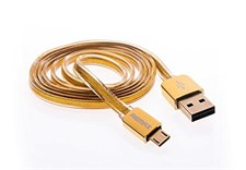 Remax Gold Micro Usb Android Charging Cable