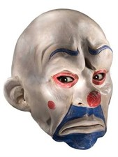 Batman Joker Latex Clown Mask