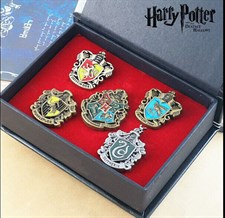 Harry Potter Houses Crest Pendant Set