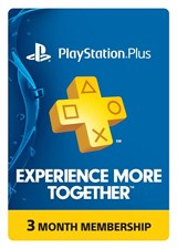 Playstation Subscription Card 3 Months