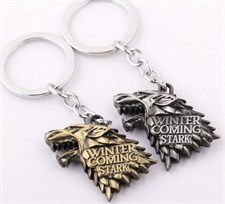 Stark Winter Is Coming Keychain