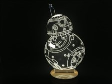 Star Wars Droid 3D Lamp