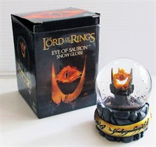 The Lord of the Rings Eye of Sauron Snow Globe