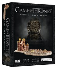 Game of Thrones:3D Kings Landing Puzzle