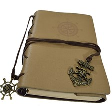 Pirate Faux Leather Journal