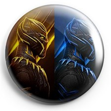 black panther gold and blue