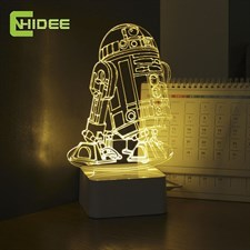 Star Wars R2 3D Lamp