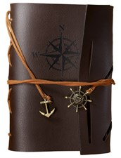 Pirate Leather Faux Journal