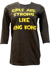 Girls Are Stronger Than King Kong