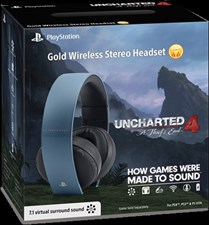 Uncharted 4 Limited Edition Gold Headset