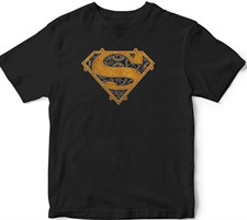 Metal Superman Logo