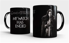Game of thrones Jon Snow Watch Has Ended