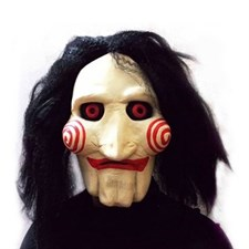 Jigsaw Puppet Latex Full Mask