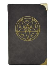 Supernatural Winchester Leather Suede Journal