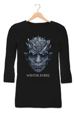 Winter Is Here Black