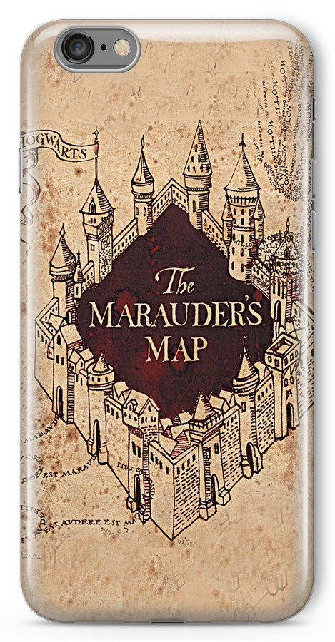 Harry Potter The Marauder\'s Map Silicon soft case,mobile case ...