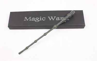 Harry potter dumbledore magical wand movie collectible for Light up elder wand