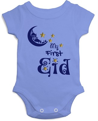 4e3531655 MY FIRST EID Onesies, Baby Garments, Baby T-shirts, Kids clothing, Baby